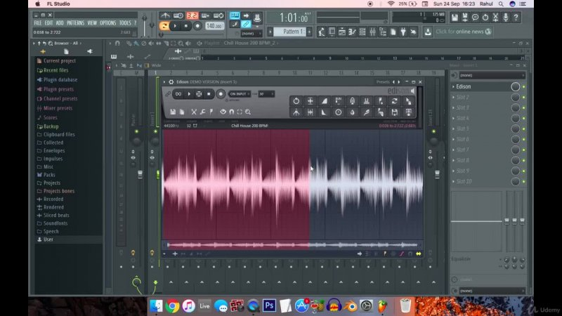 آموزش تنظیم صدای خواننده در اف ال