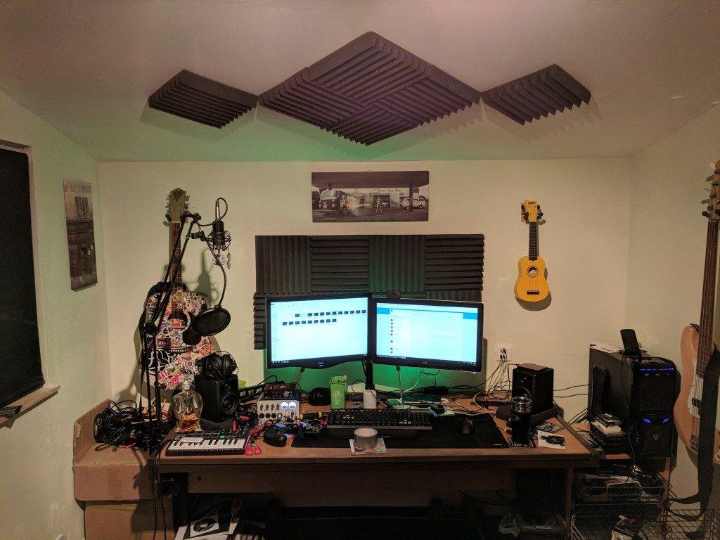 مراحل ساخت استودیو خانگی؟