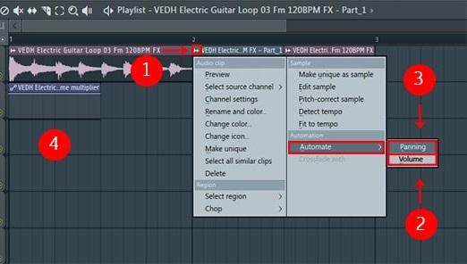 افزایش یا کاهش ولوم صدای جدا شده در پلی لیست چگونه می باشد ؟