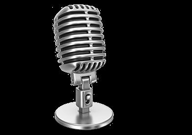 میکروفون ها از انواع فراوانی برخوردار می باشند که ما در اینجا به برخی از آنها می پردازیم:
